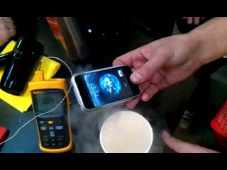 Iphone и жидкий азот